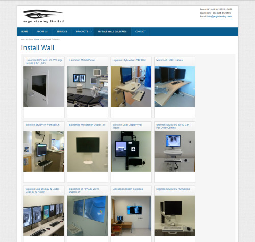 ergoviewing-install-wall